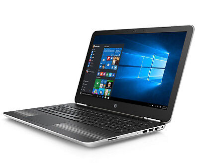 "New HP Pavilion 15-au063, 15.6"", i7-6500U, 12GB RAM, 1TB HD, Win 10 Laptop"