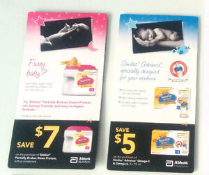 Coupons - Lait Similac - Baby Milk