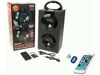 Bluetooth speaker tower