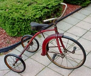 Antique 1950s childs Sunshine tricycle made in Waterloo Ont London Ontario image 4