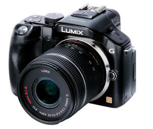 PANASONIC LUMIX DMC-G5 16MP DIGITAL CAMERA