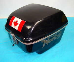 Vintage NORTON Accessory Rear Touring Box / Pac / Pack