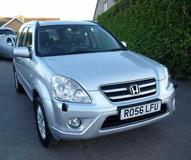 HONDA CRV EXECUTIVE V-TECH MANUAL (LEATHER TRIM)