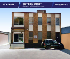 FOR LEASE~5400 SF 1037 ERIN ST Office/Showroom/Warehouse