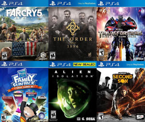 Selling/Trading PS4 Farcry, Transformers, Alien Isolation, more