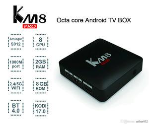 Android tv box Km8 pro ,km8p