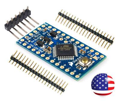 Atmega328 Pro Mini Microcontroller Board - 16mhz 5v New Arduino Compatible 140