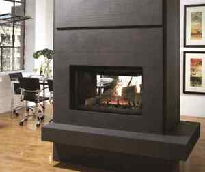 Never been used Kingsman See Through Fireplace, North Battleford