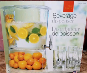 Large infuser beverage dispenser