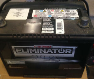Eliminator car battery, CCA 725