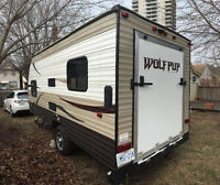 2015 Wolf Pup 17ft Lightweight Toy Hauler