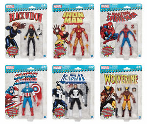 "Marvel Super Heroes Vintage 6"" Action Figures in store now!"