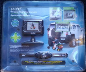 Shift3 Wireless Rear View Camera and LCD Monitor Safety System