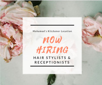 Looking For Receptionists and Hairstylists