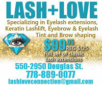 Lashes Promo ~ Special $99.95 ~ Full Classic Set!!