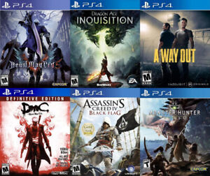Selling/Trading PS4 Devil May Cry, A Way Out, more + FREE GAME