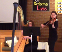 Harp and Violin Duo available for Weddings and other Events