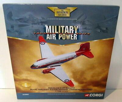 "CORGI DIECAST 1:144 SCALE AVIATION ARCHIVE "" DOUGLAS C-47A DAKOTA "" AA30005"