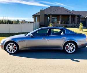2007 maserati quattroporte sport GT very clean and very low KM