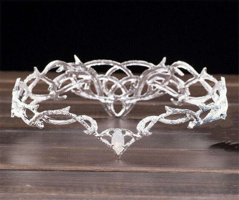 Movie The Hobbit Elven King Thrandui Crown Cosplay Props Wedding Crowns Tiaras