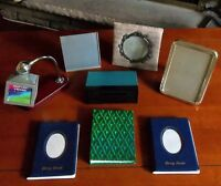 Photo Books, Holders & Wood Framed Puppy Picture