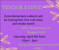 Vendors Wanted!