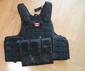 Paintball Tactical Vest (size: med)
