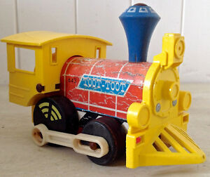 """Vintage 1964 Collection. Jouet FISHER PRICE """"Toot-Toot"""" USA"""