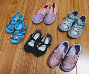 Toddler Girl Shoes (Size 7)