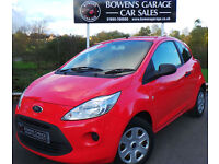 2010 FORD KA 1.2 STUDIO 3DR - 2 OWNERS - LOW MILES - FULL S/H - £30 TAX