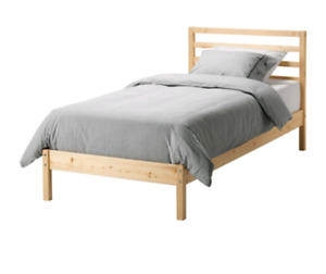 Ikea Wooden Bed Frame - Single Sturdy Great Condition