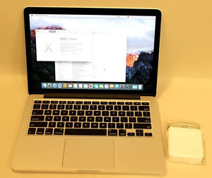 "APPLE MACBOOK PRO RETINA 13"" EARLY 2015 2.7GHZ i5 8GB 256GBread"