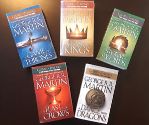 Game Of Thrones 5-Book Series
