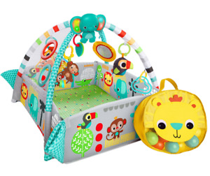 Bright starts 5 in 1 ball play activity pit