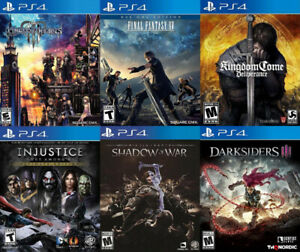 Selling/Trading PS4 Kingdom Hearts, Injustice, more + FREE GAME