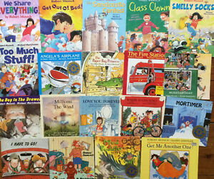 ROBERT MUNSCH Children's Books $4 each or all 19 for $50