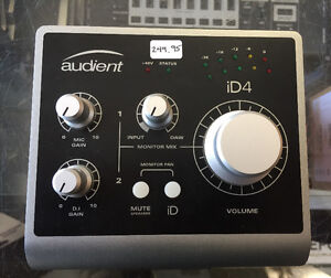 Audient ID4 for Sale