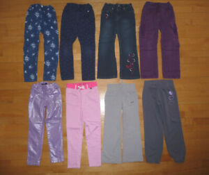 Pantalons, robes, pyjama, chandails, t-shirts 6 ans etc