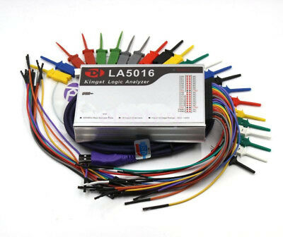 New Usb Logic Analyzer La5016 Pc 16 Channel 500mhz Max Sample Rate