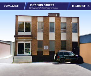 //FOR LEASE// 5400 SF 1037 ERIN ST Office/Showroom/Warehouse