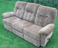 Sofa with Double Recliner