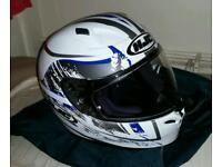 HJC FG-17 motorbike helmet never worn