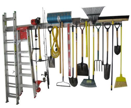 Wall organizer - tool garage organization commercial
