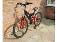 Muddyfox Suspension Bike