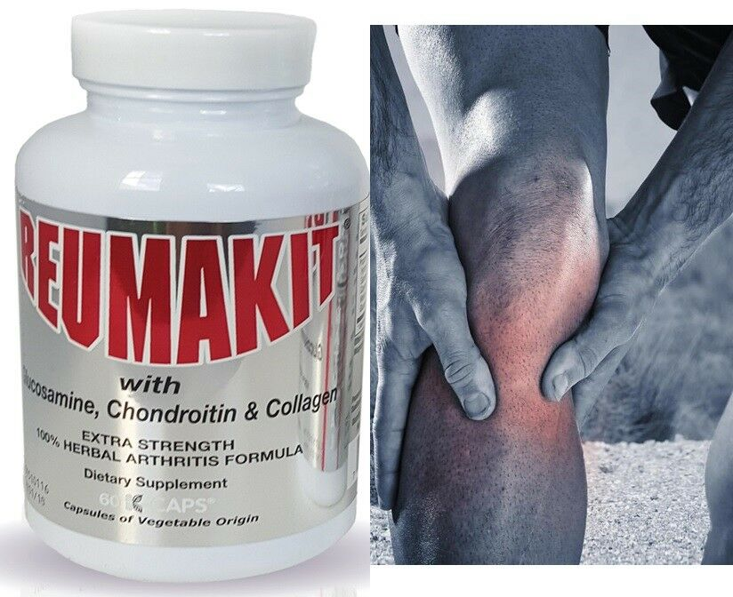 60 Reumakit artritis pain relief DOLOR REUMATOL alivio del dolor flex artritis