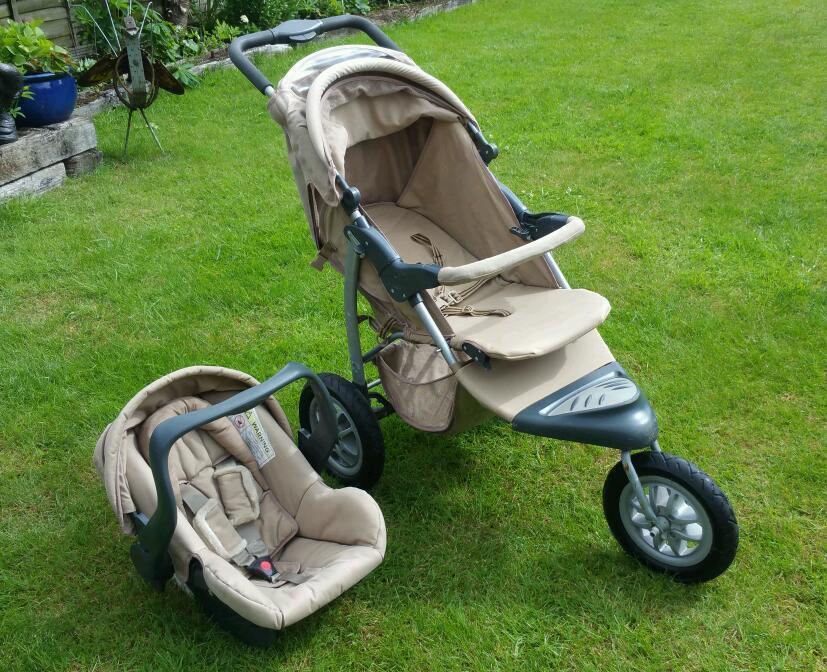 Mothercare Urban Detour Pram Car Seat In Newbury