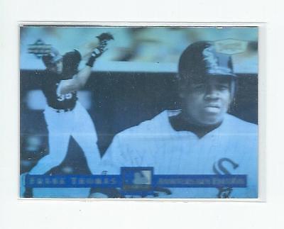 1994 Dennys Holograms  25 Frank Thomas White Sox