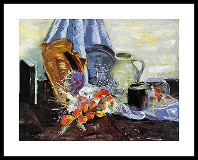 Marijke Cruysberg Still Life II Poster Bild Kunstdruck im Alu Rahmen 40x50cm