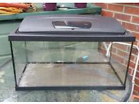 2ft fish tank for sale with lid