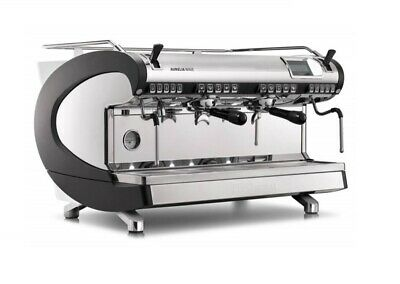 Coffee Shop Commercial Espresso Machine Simonelli Aurelia Wave Volumetric 2 Grp